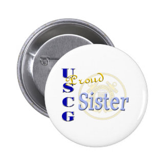 Proud USCG Sister Buttons