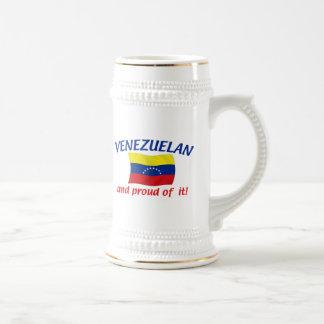 Proud Venezuelan Beer Stein