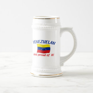 Proud Venezuelan Beer Steins