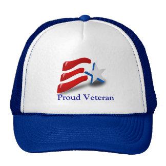 Proud Veteran Trucker Hat