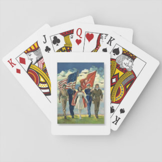 Proud Veterans - Playing Cards