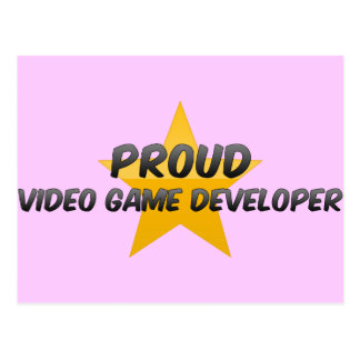 Proud Video Game Developer Post Cards