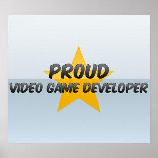 Proud Video Game Developer Print