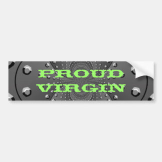 Proud Virgin Bumper Sticker