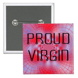 Proud Virgin Button