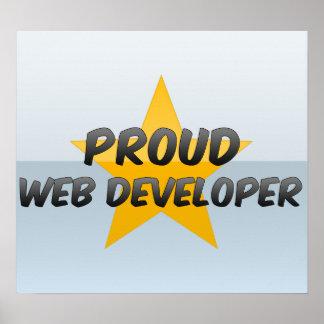 Proud Web Developer Poster