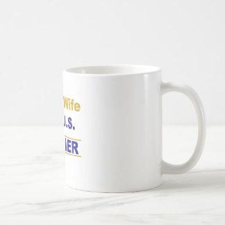 Proud wife of a U.S. soldier Coffee Mugs