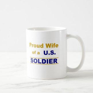 Proud wife of a U.S. soldier Coffee Mug