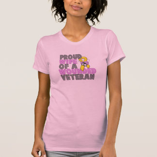 Proud Wife of a Wounded Veteran T-Shirt