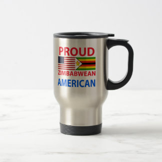 Proud Zimbabwean American Travel Mug