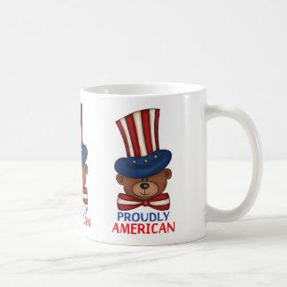 "Proudly American""Coffee Mug.. Coffee Mug"