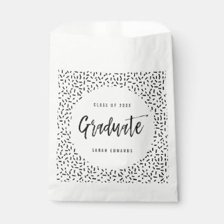 Proudly Brushed Graduation Party Favor Bags