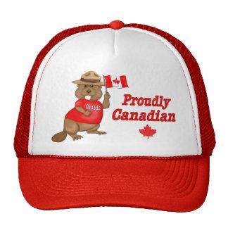 Proudly Canadian Beaver Cap