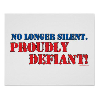 Proudly Defiant 2 Posters