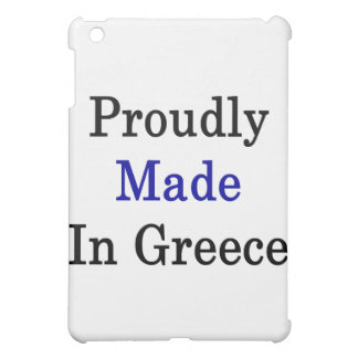Proudly Made In Greece Cover For The iPad Mini