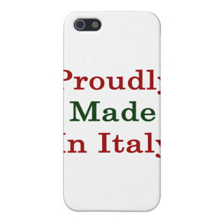 Proudly Made In Italy iPhone 5 Case