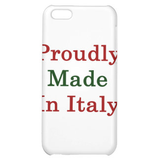 Proudly Made In Italy iPhone 5C Cases