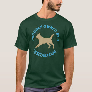 Proudly Owned by a Rescue Dog 37 T-Shirt
