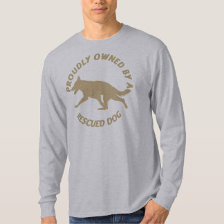 Proudly Owned by a Rescue Dog 48 T-Shirt