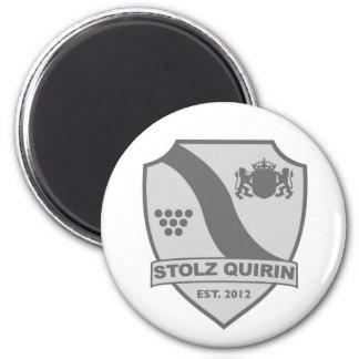 Proudly Quirin fan shop 6 Cm Round Magnet