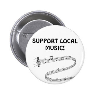Proudly show your support for local music pinback buttons
