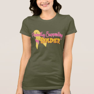 Proudly Supporting My Soldier T-Shirt