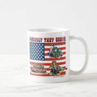 Proudly They Serve Coffee Mug