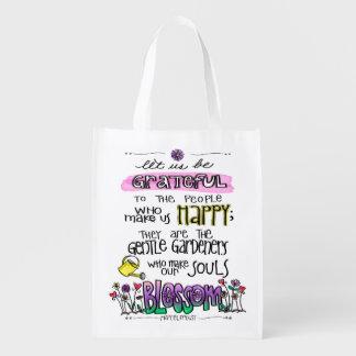 Proust Quote Let Us Be Grateful Reusable Bag