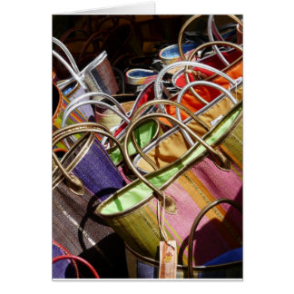 Provencal bags card