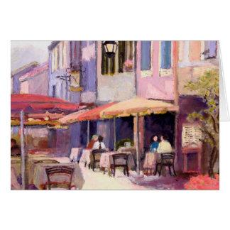 Provence Cafe Card