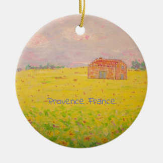 Provence France Ceramic Ornament