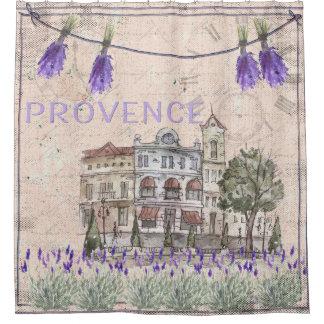 Provence France Lavender Flower Summer Love Shower Curtain