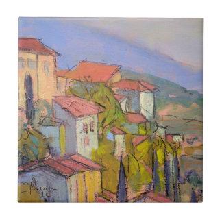 Provence Hideaway Art Tile