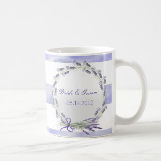 Provence Lavender Purple Flower Floral Wedding Coffee Mug