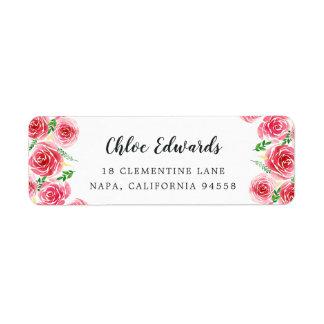 Provence Rose Return Address Return Address Label