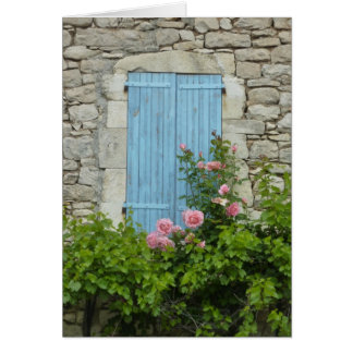 Provence Window Scene Card