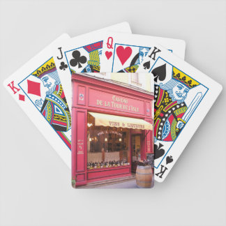 Provence Wine Shop Bicycle Playing Cards