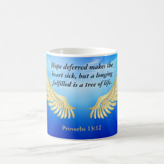 Proverbs 13:12 coffee mug