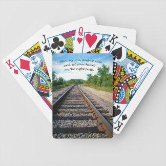Proverbs 23:19 poker deck