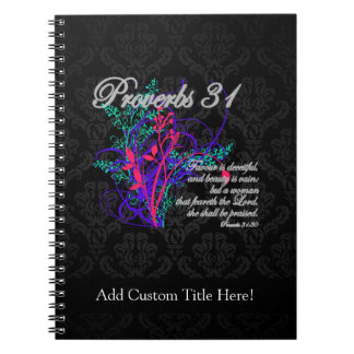 Proverbs 31 Bible Christian Women's Notebook
