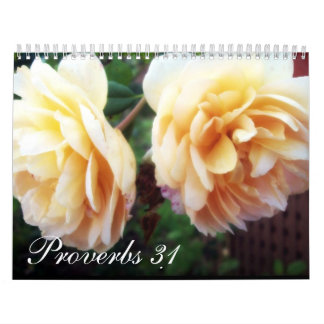 Proverbs 31 calendars