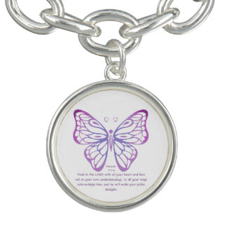 Proverbs 3:5,6 Scripture Inspiration Butterfly
