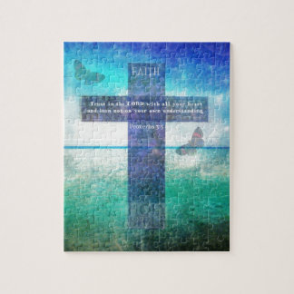 Proverbs 3:5 Trust in the Lord with all your heart Jigsaw Puzzle