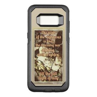 Proverbs 4:18 OtterBox Samsung Galaxy S8 Case