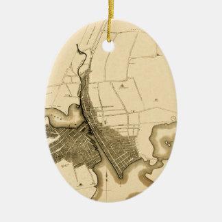 providence1823 ceramic ornament