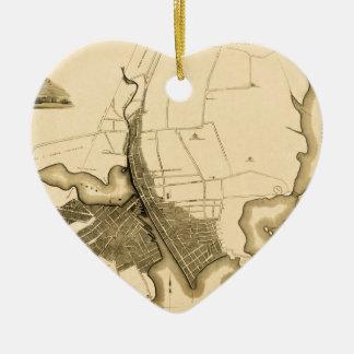 Providence 1823 ceramic ornament