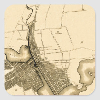 Providence 1823 square sticker