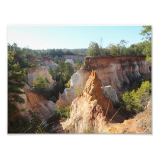Providence Canyon State Park Georgia Photo Print