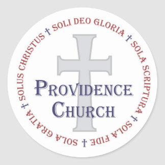 Providence Church stickers