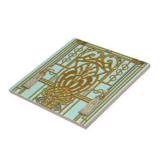 PROVIDENCE: HOLLYWOOD REGENCY SMALL SQUARE TILE
